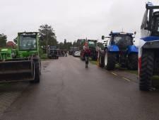 Boerenprotest in Kamperland, minister blaast bezoek aan Zeeland af