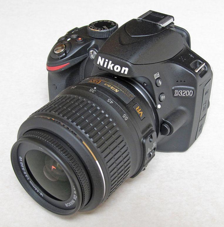 Nikons D3200, het succesvolste spiegelreflexmodel van de fabrikant.