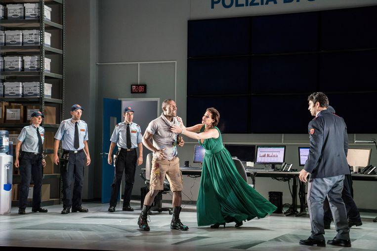 Tosca - Nationale Reisopera 2018. Beeld Marco Borggreve