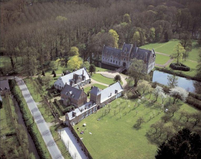 Kasteel Elewijt of 'Het Steen' in Elewijt (Zemst).