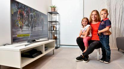 """Evelyn, de vrouw achter wielrenner Thomas De Gendt: """" De kinderen vinden het steeds moeilijker dat papa zo vaak weg is"""""""