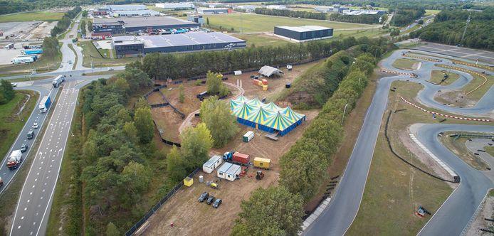 Festival terrein Het Wilde Woud aan de Zevenbergseweg in Berghem Fotograaf: Wouter van Assendelft