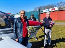 Samen al een eeuw lang in de lucht: gouden vliegeniers gehuldigd