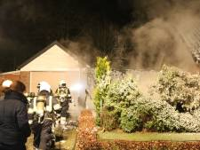 Forse brandschade aan woning in Venhorst