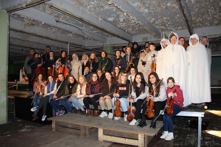 De leerlingen van de Kunstacademie Vlaamse Ardennen brengen vanaf volgende week de opera Dido 2.0 op de planken.