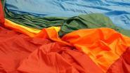 Grootste vredesvlag ooit bijna klaar