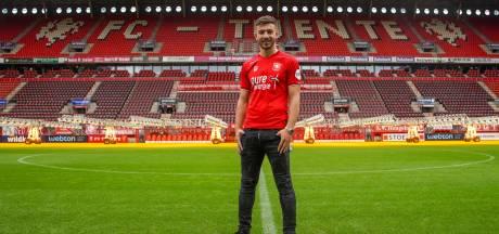 FC Twente presenteert Dervisoglu: 'Het gesprek met de club gaf vertrouwen'