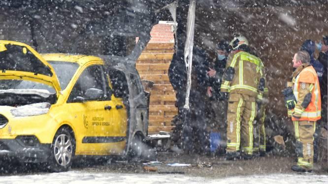 Parket bevestigt: dienstwagen AWV werd wel degelijk in brand gestoken