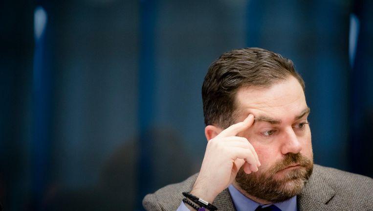 Staatssecretaris Klaas Dijkhoff informeerde donderdag de Kamer over de fout. Beeld null