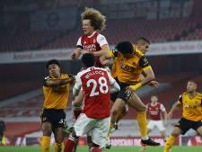 Wolves wint bij Arsenal, maar heeft zorgen om Jiménez na harde botsing met Luiz