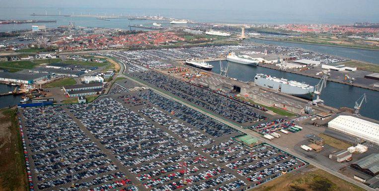 """""""De autotrafiek in Zeebrugge vermijdt een sociaal bloedbad"""", stelt Fernand Traen."""