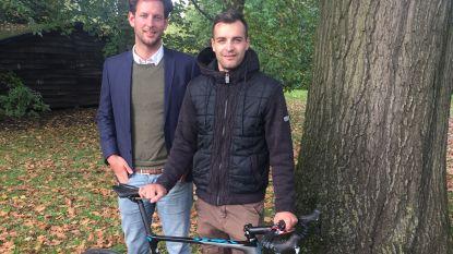 Wietse Bosmans zoekt sponsors voor eenmansploeg