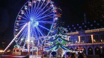 Niet één maar twee peters voor de Leuvense Kerstmarkt: Steph Goossens en Rudi Vranckx steunen LUMOS