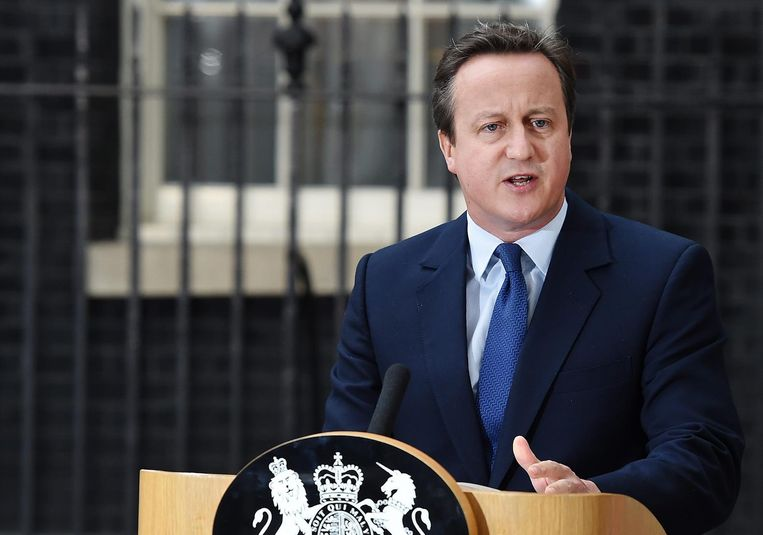 David Cameron. Beeld null