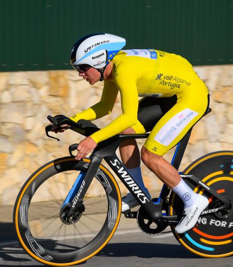 Evenepoel in stijl naar eindzege Ronde van de Algarve