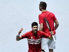 Djokovic met Servië uitgeschakeld door Rusland