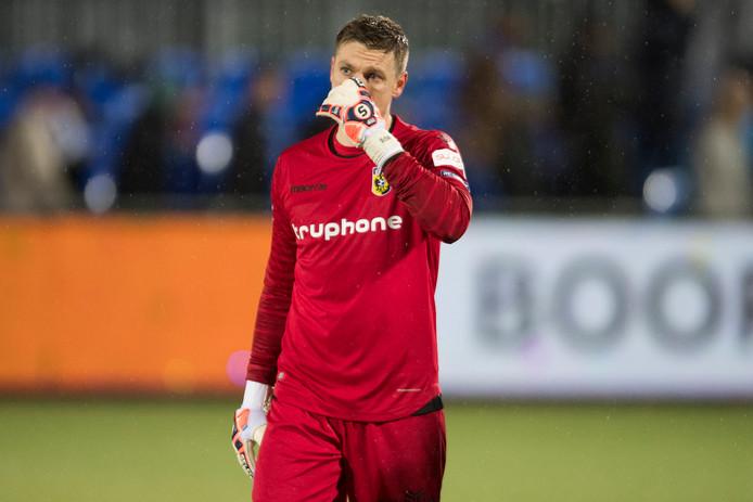 Vitesse-doelman Michael Tornes kan zondag met jong Vitesse spelen.