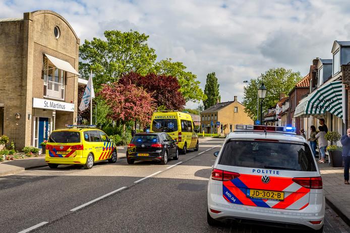 Op de melding kwamen onder andere twee ambulances af.