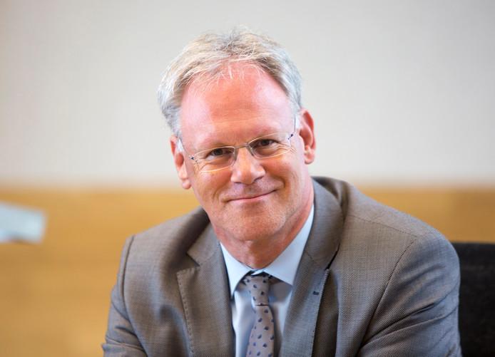 Wethouder Hans Horlings van Midden Delfland: in het ziekenhuis opgenomen, besmet met het coronavirus.