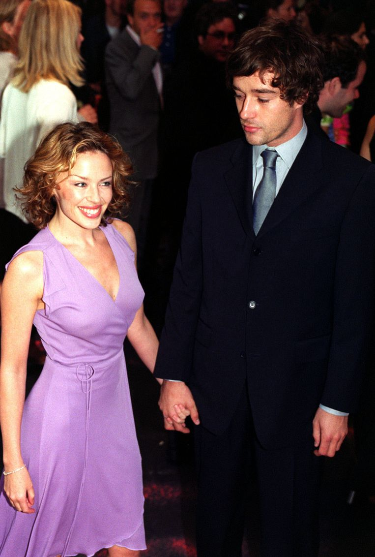 Kylie Minogue en James Gooding