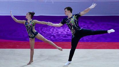 """Tuur haalt finale Europees kampioenschap acrogym en eindigt bij vijf beste: """"Te weinig erkenning, maar prachtige sport"""""""