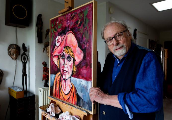 Adrian Stahlecker, thuis in Scheveningen.