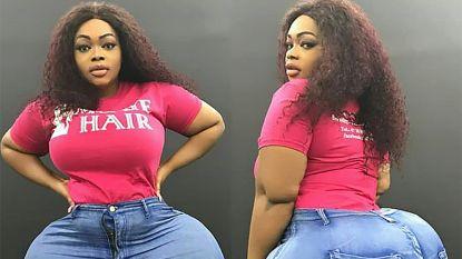 Vrouw met gigantische derrière veroorzaakt dagelijks verkeerschaos