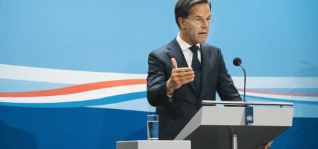 Rutte ontkent een-tweetje OM en Grapperhaus: 'Dit is bewijs dat er geen klassenjustitie is'