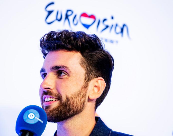 Songfestivalwinnaar Duncan Laurence.