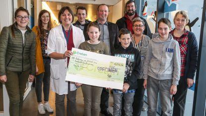 15.071 euro voor afdeling kinderoncologie UZ