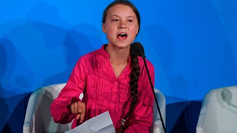 Greta Thunberg Beeld BBC