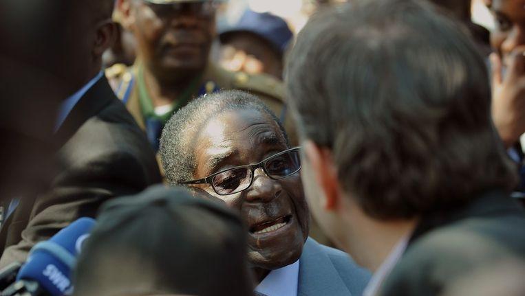 Robert Mugabe Beeld ANP