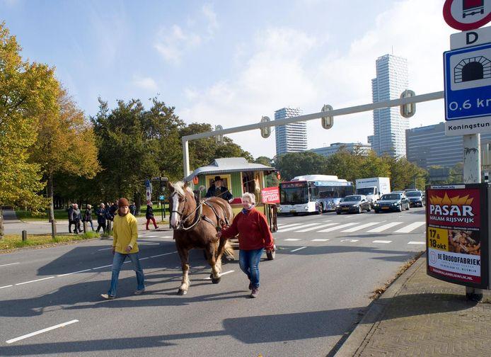 Stichting Vrije Recreatie voerde in Den Haag al eerder actie tegen de toeristenbelasting.