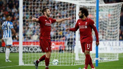 Zuinige zege dankzij fraaie goal Salah: Liverpool blijft mee op kop in Premier League