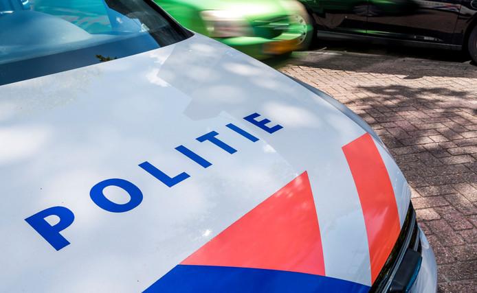 Een politieauto, foto ter illustratie
