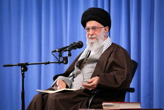 L'ayatollah Khamenei, guide suprême iranien