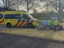 Fietsster in Ermelo raakt gewond bij botsing met bestelbusje