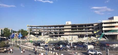 VIDEO: Deel parkeergarage Eindhoven Airport ingestort, geen gewonden, vliegverkeer normaal