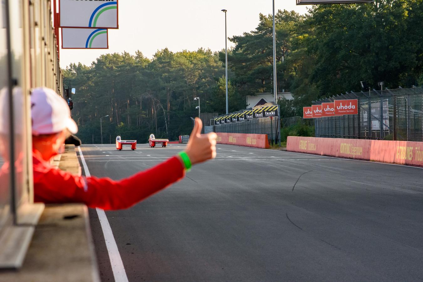 De RED Shift en de RED E passeerden op het circuit van Zolder respectievelijk als tweede en derde de finshlijn.