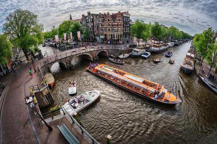 Kruising van de Prinsengracht en Brouwersgracht
