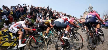 Hellingen en kasseistroken blijven leeg bij Ronde van Vlaanderen