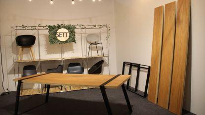 "Leuvense start-up SETT.design brengt handigheid en design samen: ""Een tafel zonder vijzen"""