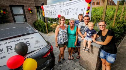 Buren verwelkomen Europees kampioen