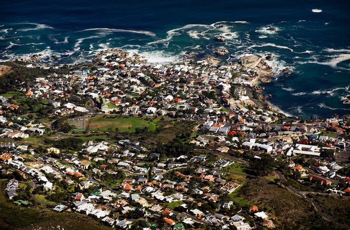 Archiefbeeld ter illustratie: stadsgezicht van Kaapstad gezien vanaf de Tafelberg