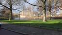 De vijver in het Liniepark.