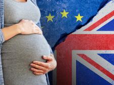 Strijdlustige Britse politica stelt bevalling uit voor brexitstemming