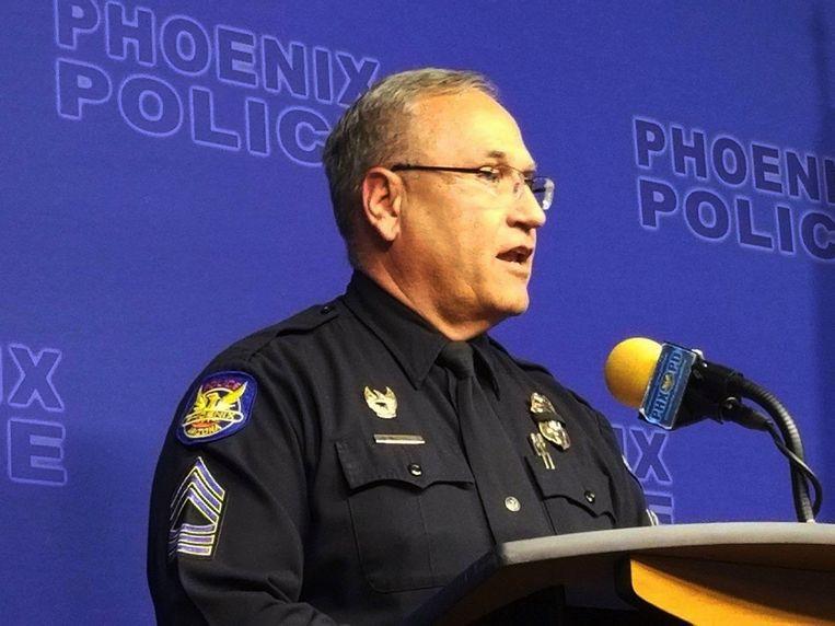 Tommy Thompson van de politie van Phoenix.