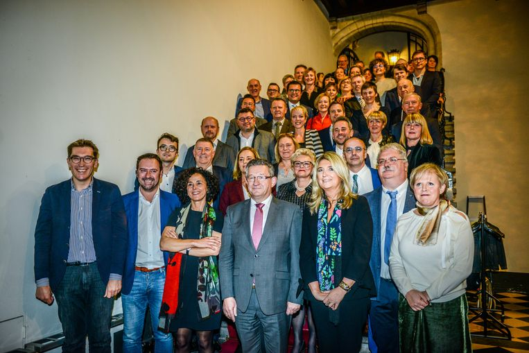 De gemeenteraad van Brugge.