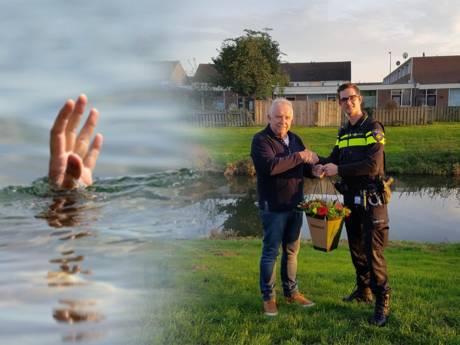 Heldhaftige man redt bewusteloos kindje (1) van verdrinkingsdood