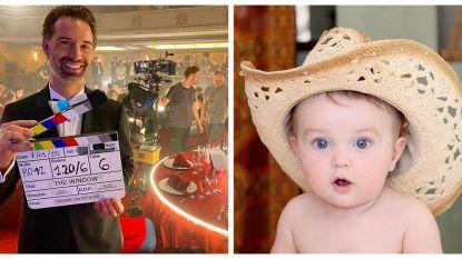 SHOWBITS. Sean Dhondt gaat acteren en van wie is deze schattige baby?